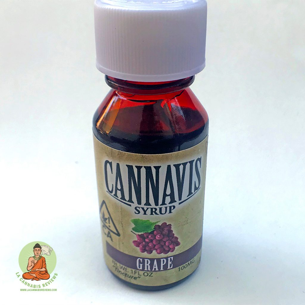LA Kush: Cannavis Syrup - Grape