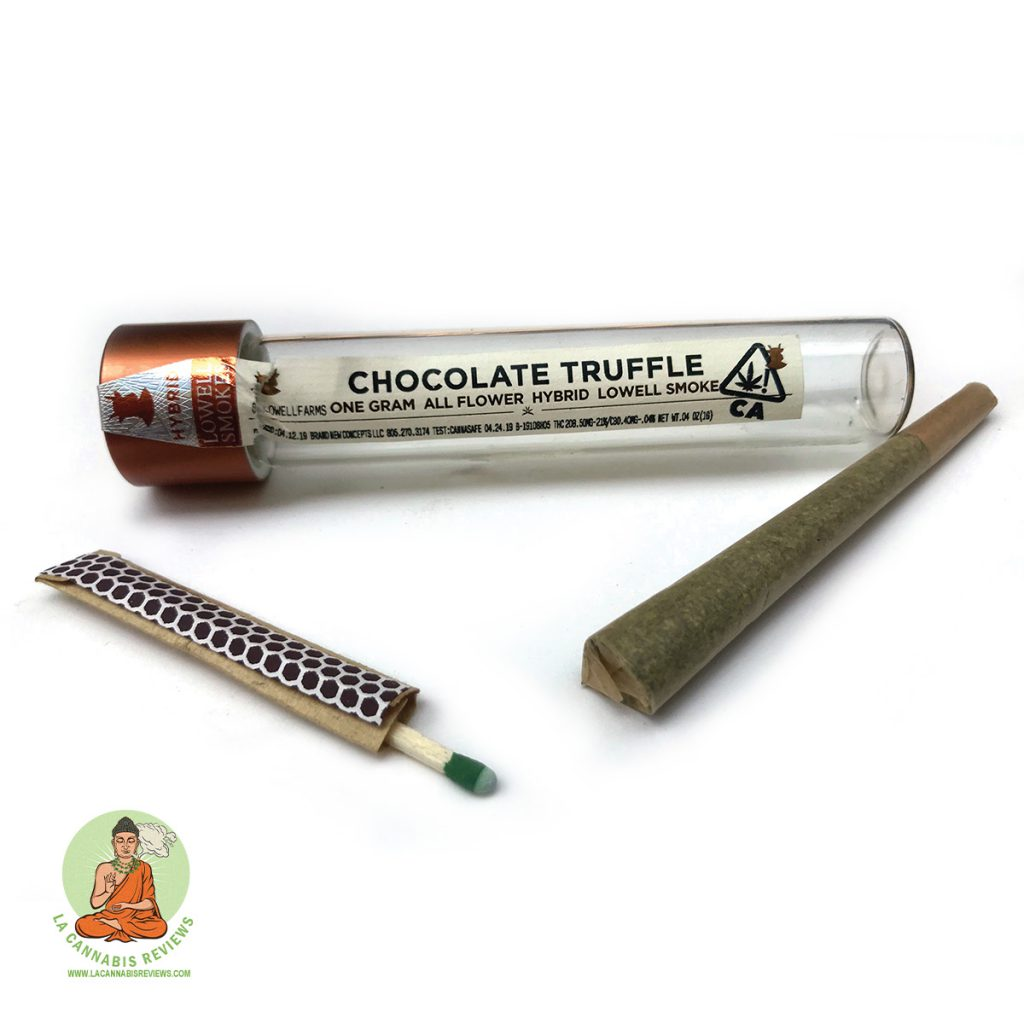 Lowell Smokes Chocolate Truffle Hybrid Pre-Roll Joint