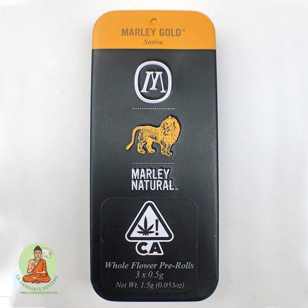 """Marley & Marley & Marley & Me"" AHHS: Marley Gold Pre-Rolls 3 pack (Sativa) - Marley Natural"
