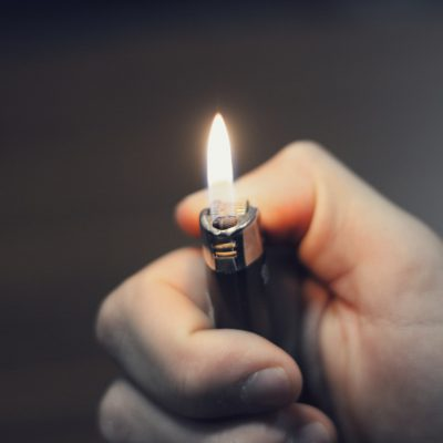 What To Do When You're Trying To Smoke, But Don't Have A Lighter