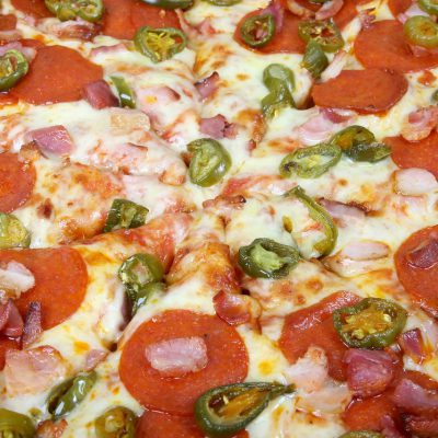 Brighten Your Day With This THC Tex-Mex Pizza Recipe