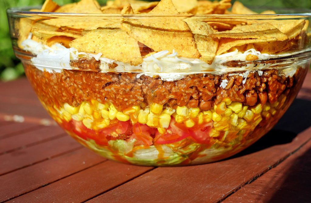 Enhance Your Mood With Some THC Turkey Taco Salad
