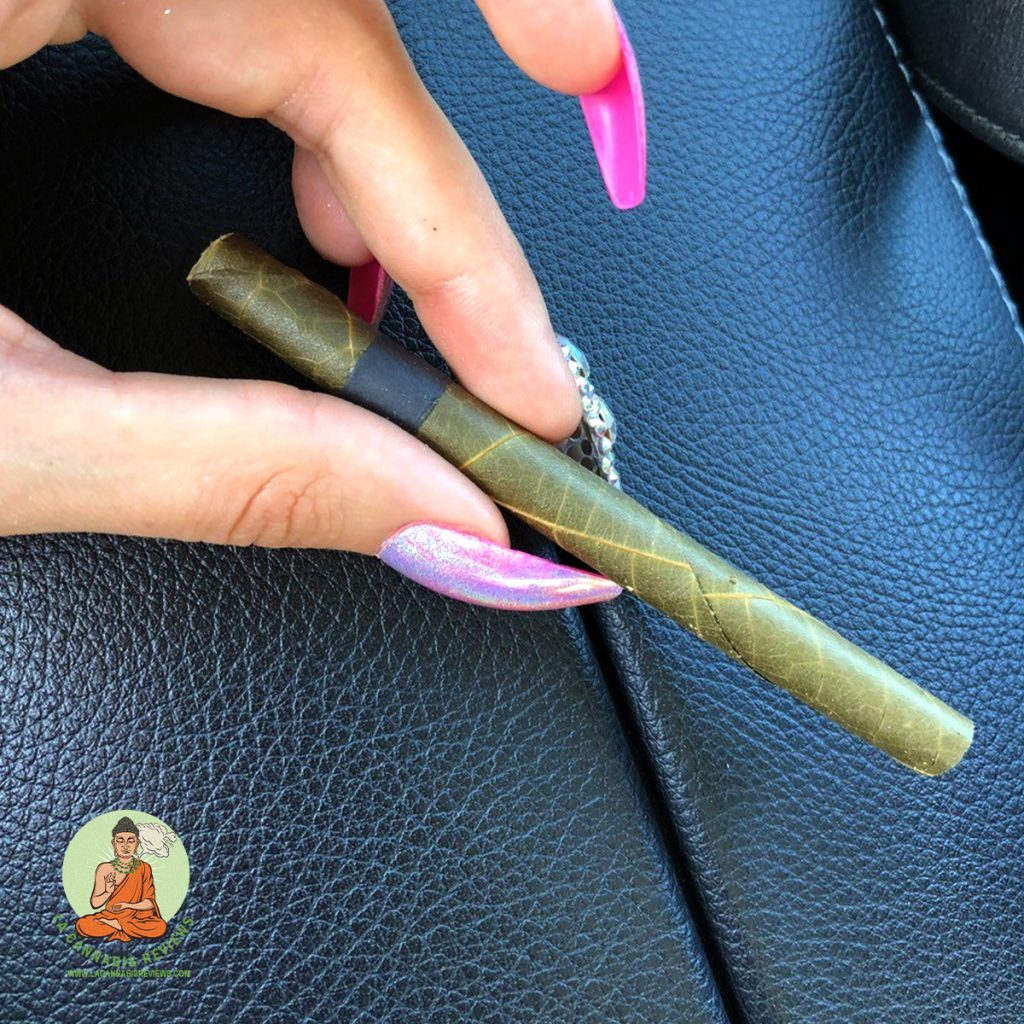 The Pottery: Grown Genetics Crown OG Palm Leaf Preroll